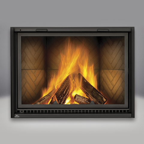 Napoleon High Country 8000 Wood Fireplace - Chimney Cricket