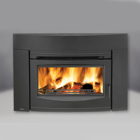 Oakdale™ Cast Iron EPA Wood Burning Insert (Contemporary) EPI3C - Chimney Cricket