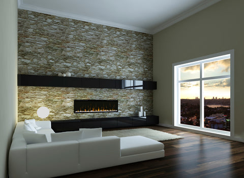 "DIMPLEX 50"" Prism Series Linear Electric Fireplace 253-BLF5051"