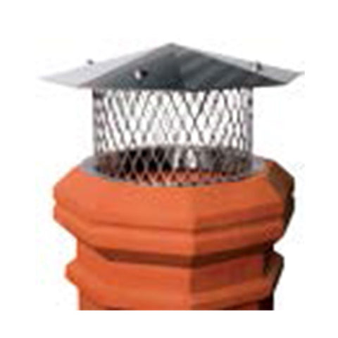 Pot Toppers Stainless Round I.D. With Octagon Lid - Chimney Cricket