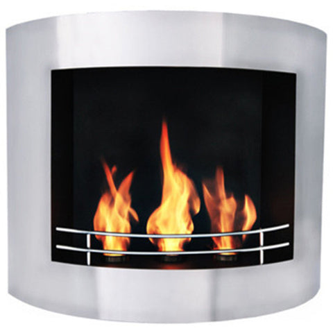 Prive Wall Mount Fireplace - Chimney Cricket