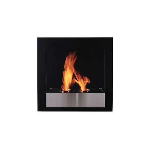 Pure Wall Mount Fireplace - Chimney Cricket