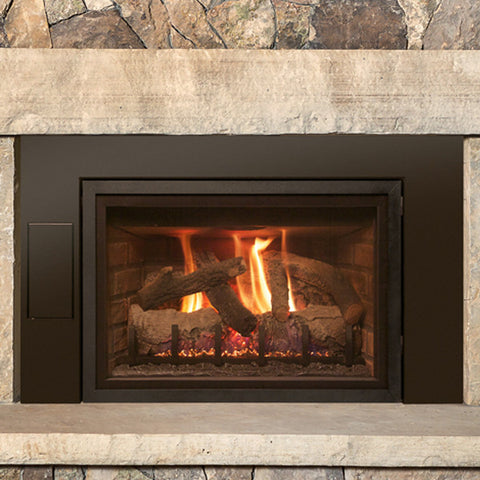 "Realfyre Direct Vent 25"" Insert (IPI Ignition) - Chimney Cricket"
