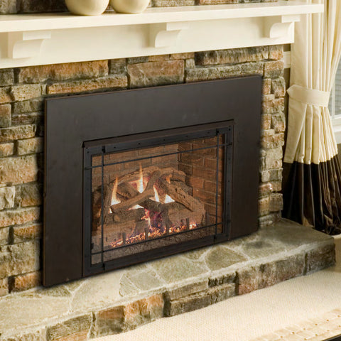 "Realfyre Direct Vent 36"" Insert (Millivolt) - Chimney Cricket"
