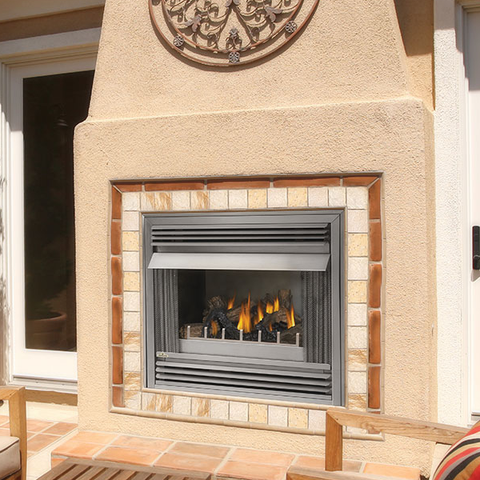 Napoleon Riverside Outdoor Gas Fireplace - Chimney Cricket