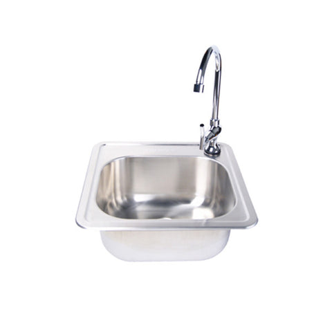Stainless Steel Sink & Facuet Set - Chimney Cricket