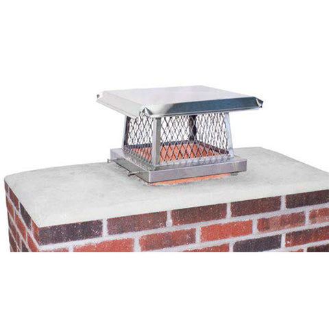 Multi-Purpose Rigid Flange Chimney Caps - Chimney Cricket