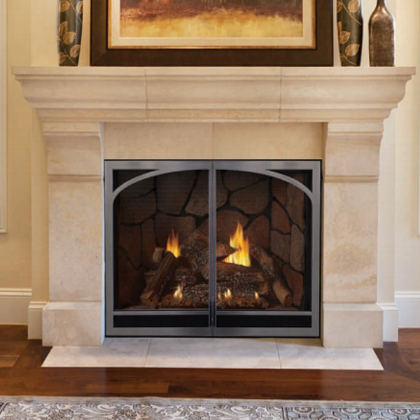 Empire Tahoe Luxury Direct Vent Fireplace (Clean Face Fireplace ...