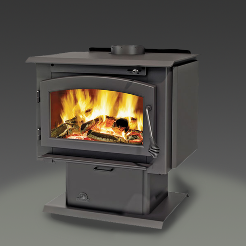 Timberwolf® Economizer™ EPA 2300 Wood Burning Stove - Chimney Cricket
