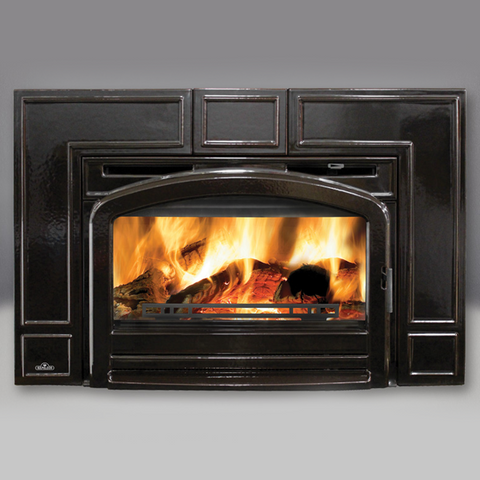 Oakdale™ Cast Iron EPA Wood Burning Insert (Traditional) EPI3T - Chimney Cricket