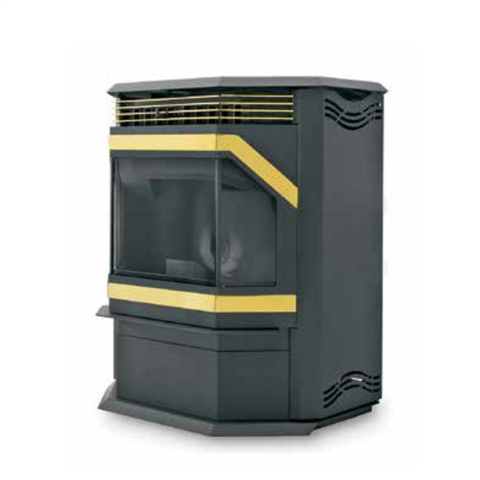 WINSLOW ™ Pellet Stove - Chimney Cricket