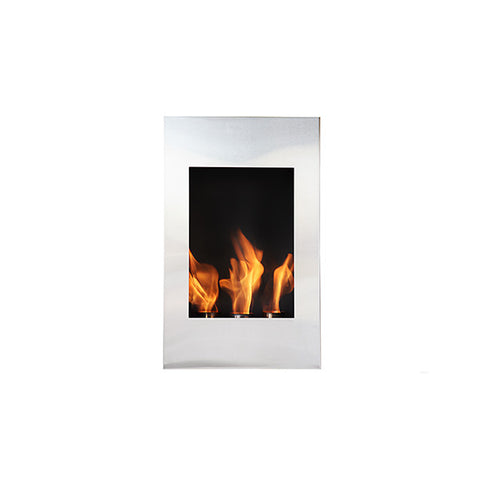 Xelo Wall Mount Fireplace - Chimney Cricket
