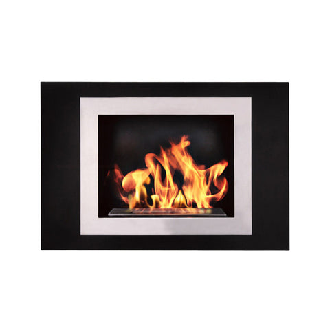 Fiorenzo Wall Mount Fireplace - Chimney Cricket