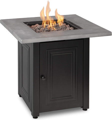 """Wakefield"" LP Gas Outdoor Fire Pit - Chimney Cricket"