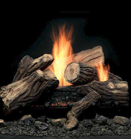 Monessen Mojo Vent Free Gas Log Set - Chimney Cricket