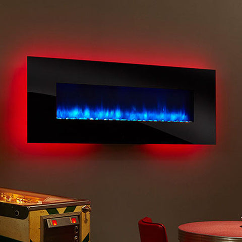 Monessen SimpliFire Wall-Mount Electric Fireplace Series - Chimney Cricket
