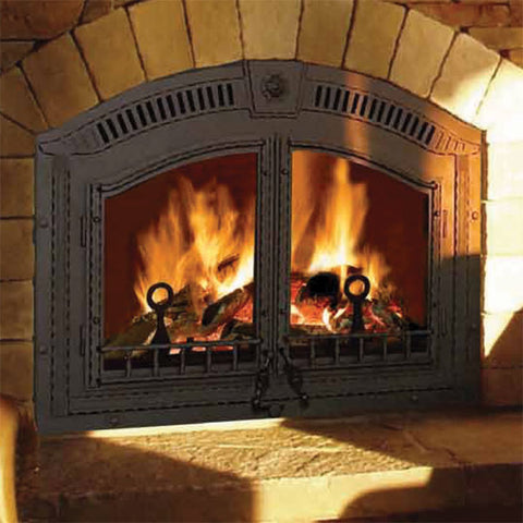 NZ6000 High Country™ EPA Zero-Clearance Wood Burning Fireplace - Chimney Cricket