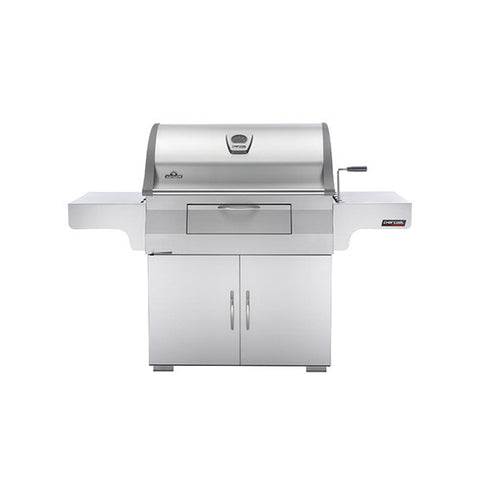 Napoleon Charcoal Professional Grill in Stainless Steel - Chimney Cricket
