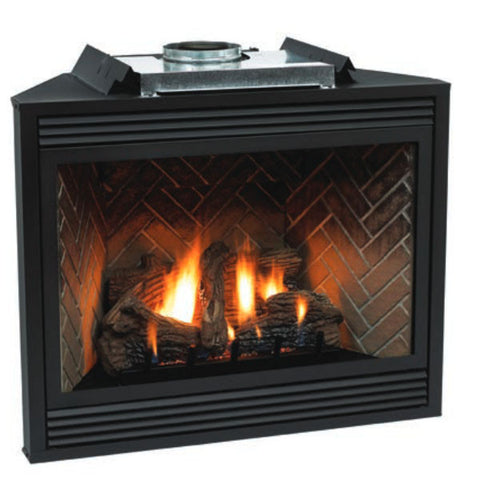 "Empire Tahoe Direct Vent Fireplace Premium 42"" - Chimney Cricket"