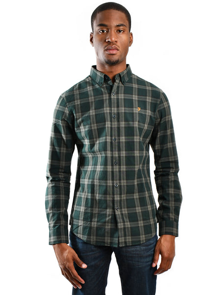 Long sleeve Oxford shirt titled
