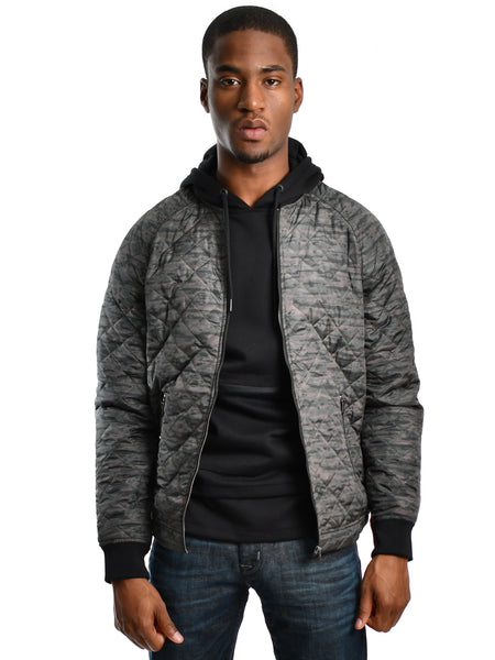 Lightweight quilted jacket titled