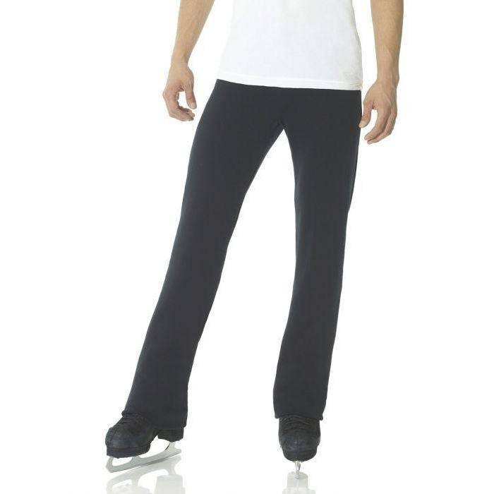 Mondor Men's Boys Figure Skating Polartec Pants 4447