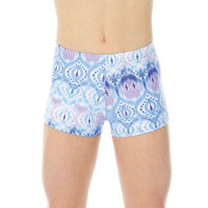 Mondor Dance Shorts Activewear Gymnastics Shorts 7825 Purple Bubbles B8