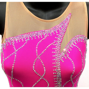 Figure Skating Dress - 100's Crystals SU250 Available 6 Colours