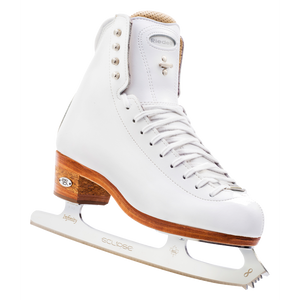 New Figure Skating Riedell Skating Boots 2200 WHITE Synchro Synchronized 100 Support Level (Extra Firm) Team Skating, Freestyle Made On Order
