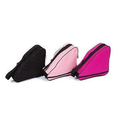 Figure Skating Bag Solid Colour Single Bags Clear Pink