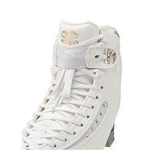 New Edea Figure Skates Lace Straps Set White One Size Fits All