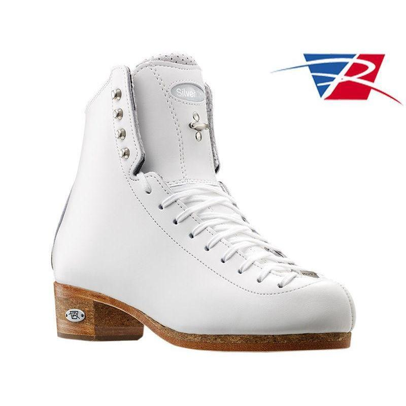 New Riedell Skating Boots 875 Silver Star BLACK Double Triple Jumps Stifness 90