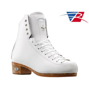New Riedell Skating Boots 875 Silver Star WHITE Double Triple Jumps  Stifness 90