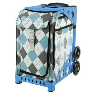 Zuca Bag - Argile Blue Figure Skating Bag with Frame or Insert Only
