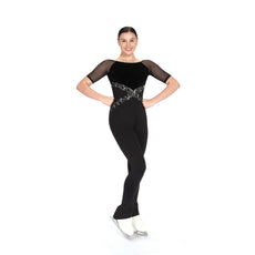 Jerrys Figure Skating Catsuit Unitard 291 Cross Waist