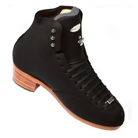 New Figure Skating Riedell Skating Boots 4200 Dance 90 Support Level (Extra Firm) Jr./Sr. Dance BLACK Made On Order