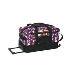 6025 Graffiti Skate Bag On Wheels - Purple