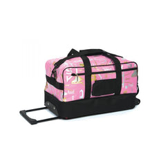 6095 Graffiti Skate Bag Sa Mga Gulong - Ice Pink