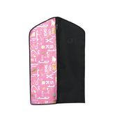 6099 Graffiti Garment Bag - Ice Pink