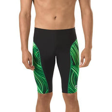 Speedo Mens Swimsuit Jammer Turbo Stroke Green Endurance + Μέγεθος 34