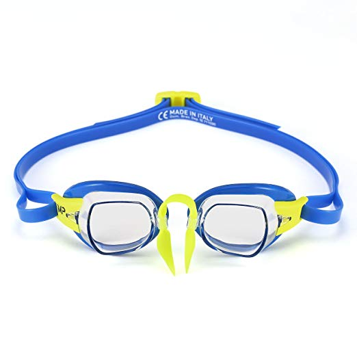 Michael Phelps Goggles Chronos Blue Lime Swedish Goggle