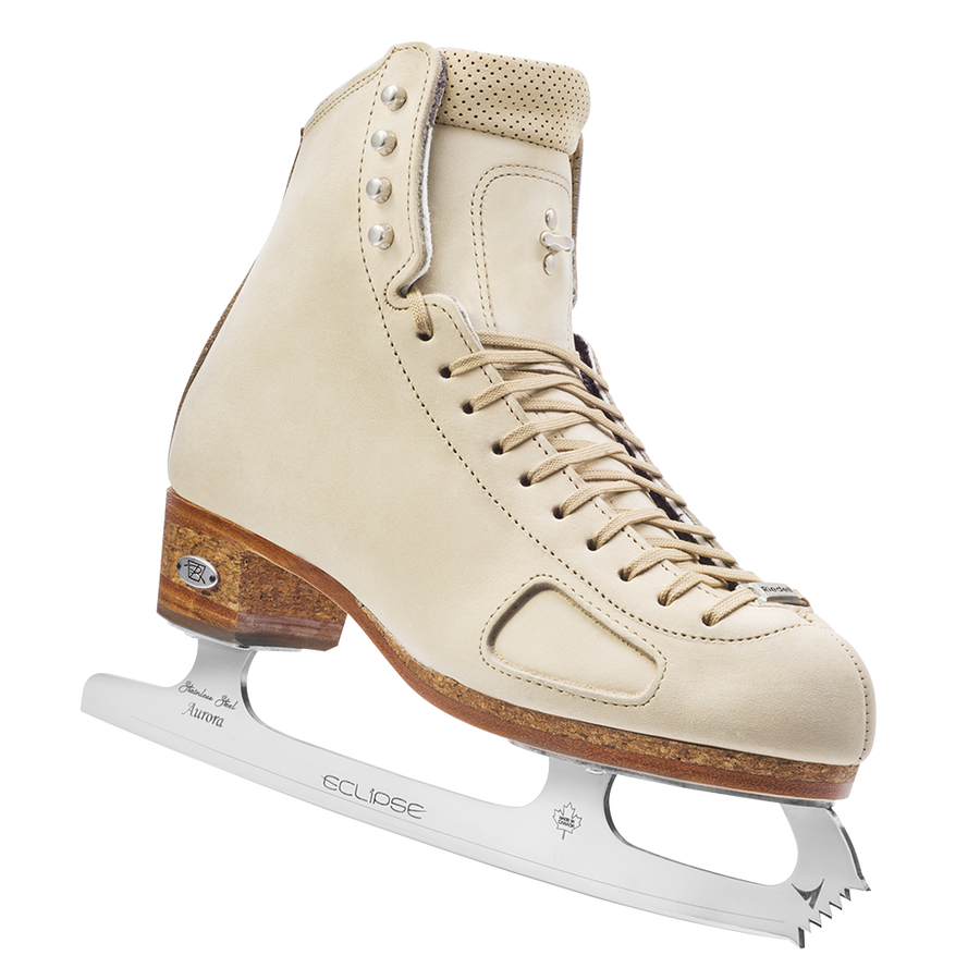 New Figure Skating Riedell Skating Boots 975 Instructor 75/95 Support Level (Firm/Extra Firm) For Coaching and Instructing WHITE FIRM Made On Order
