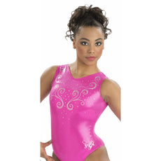 Gk Elite E3591 Fimleikar Leotard Limited Berry Nastia Liukin