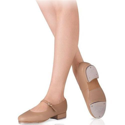 LS3003L Ms Giordano Tap Shoes  Mary Jane Tan Color Leather