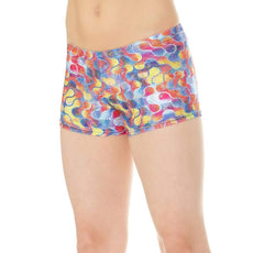 Mondor Dance Shorts Activewear Gymnastics Shorts 7825 FF Futura Size 6-8 Youth