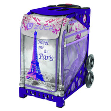 Zuca Meet Me in Paris Figure Skating Bag with Frame or Insert Only