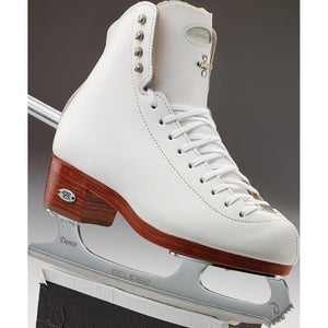 New Figure Skating Riedell Skating Boots 4200 Dance 90 Support Level (Extra Firm) Jr./Sr. Dance WHITE Made On Order