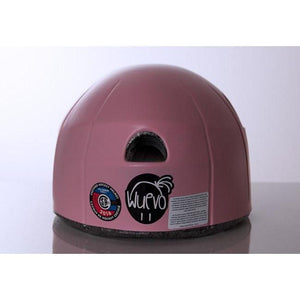 Wuevo Figure Skating Helmet With Ponytail Holes Pink or White