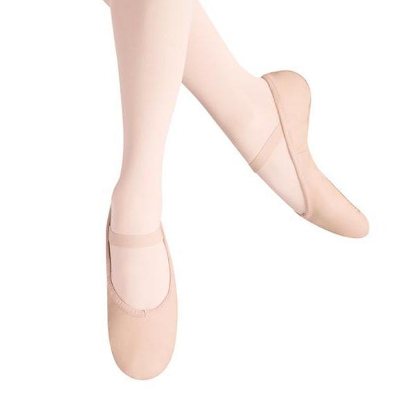 Leo's Ballet Russe Ballet Slippers LS2001G Pink Dance Shoes
