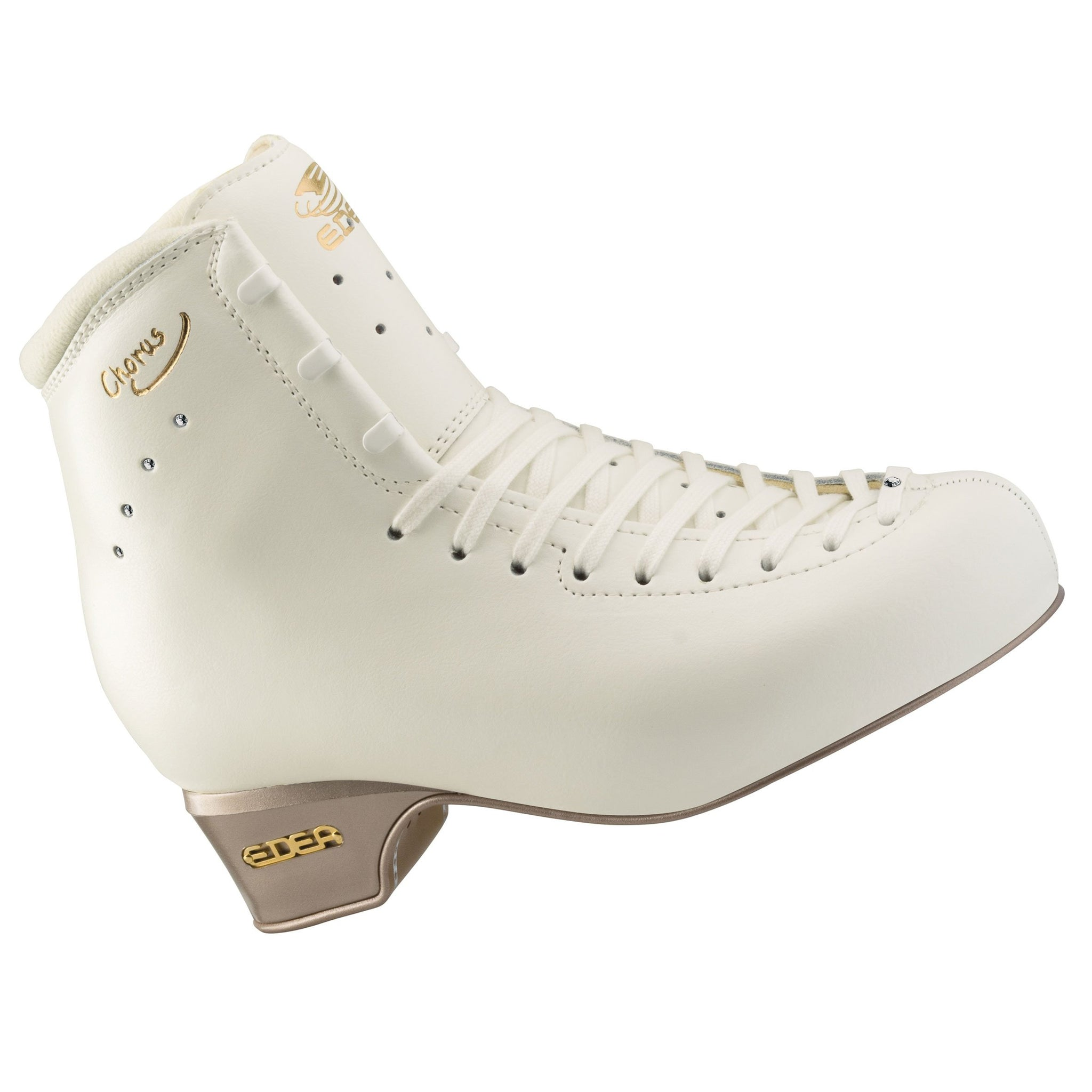 Edea Chorus Figure Skates Boots Only Double Jumps From Sizes 21 0 28 0